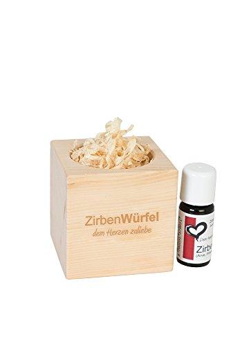 Zirben-/Arveduftwürfel 'Fresh Cube' inklusive Zirbenöl