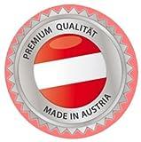 ZIRBENKISSEN - befüllt mit Tiroler Zirbenflocken – Zirbenspäne, Zirbenholz der Zirbe – Zirbelkiefer - Größe Farbe Motiv - wählbar (20 x 30 cm, beige - mit Motiv Edelweiß)