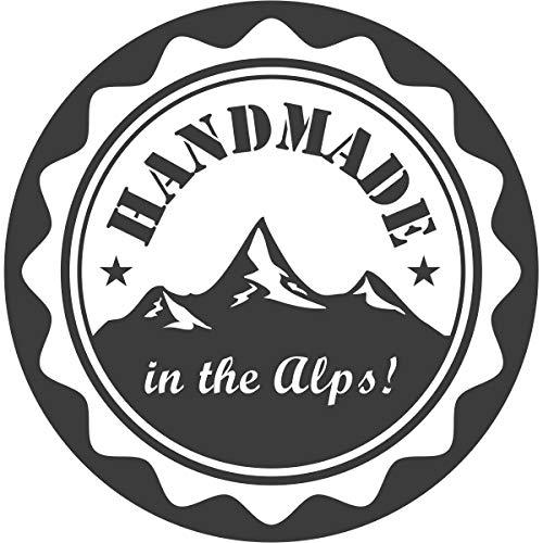 4betterdays.com NATURlich leben! Wiederbefüllbarer Zirbenwürfel mit abnehmbarem Deckel - 20 x 20 x 20 cm - befüllt mit frischen Zirbenspänen - Gewicht 1.300 g - Meisterstück Handmade in Österreich