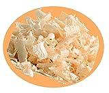 Zirbenkissen - befüllt mit Tiroler Zirbenflocken - wählbar mit verschiedenen Motiven (20 x 30 cm, beige - mit Motiv Edelweiß)